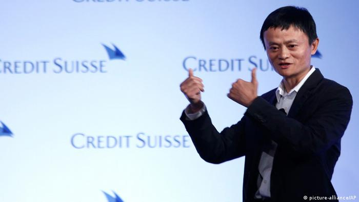 Jack Ma CEO Alibaba Group Hong Kong