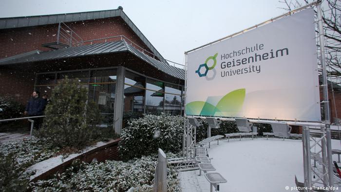 Вуз нового типа в Германии - Geisenheim University