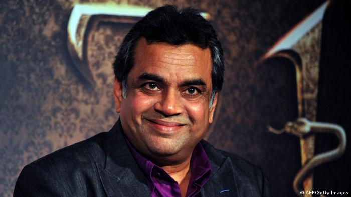 Indien Bollywood Schauspieler Paresh Rawal (AFP/Getty Images)