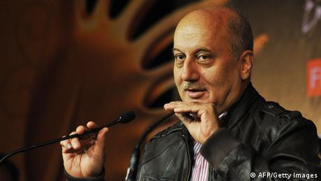 Indien Bollywood Schauspieler Anupam Kher (AFP/Getty Images)