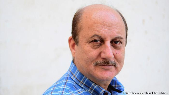 Indien Bollywood Schauspieler Anupam Kher (Getty Images for Doha Film Institute)