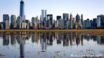 USA Manhattan Panorama in New York (picture-alliance/AP)