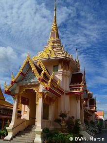 A Bangkok temple vertical shot (photo: DW/ Nik Martin)