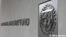 Logo Zentrale IWF in Washington