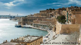 На острове Мальта. Гавань Ла Валетты.