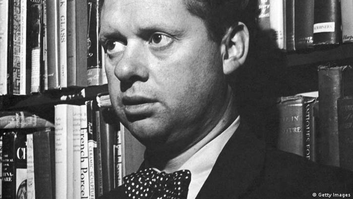 poet Dylan Thomas (Getty Images)
