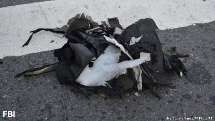 На месте взрывов в Бостоне