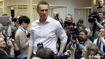 Alexej Nawalny vor Gericht (Foto: reuters)