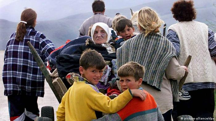 Flüchtlinge Kosovo Albanien UN Flüchtlingshilfswerk