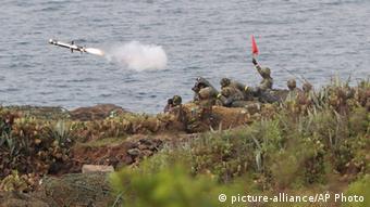Taiwan Militärübung auf Penghu