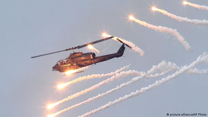 Taiwan Militärübung auf Penghu (picture-alliance/AP Photo)