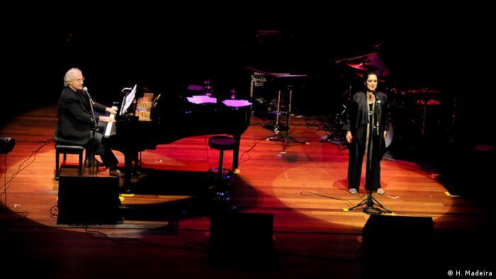 Brasilien Musik Jazz Francis und Olivia Hime in Konzert