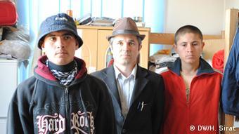 Amir Hamza Halimov and his sons
