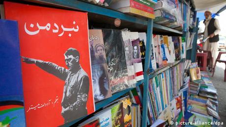 Adolf Hitler Poster in Kabul bei einem Buchhändler