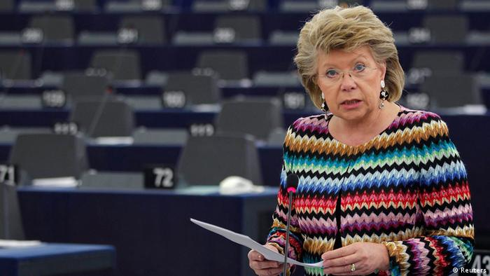 Viviane Reding (Foto: Reuters)