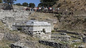 Ο αρχαιολογικός χώρος της Τροίας