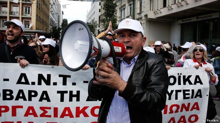 Griechenland Proteste Sparmaßnahmen