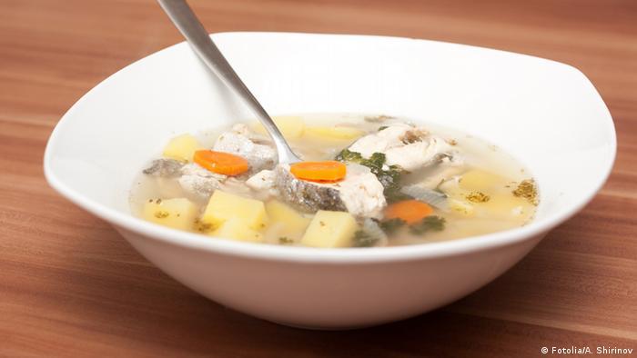 Русский рыбный суп