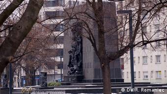 Monument to the Ghetto Heroes DW/Rosalia Romaniec