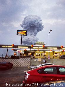 USA Explosion in Düngemittelfabrik