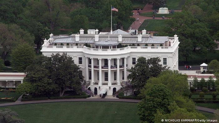 Washington, UNITED STATES: View of the White House in Washington, DC, 28 April 2007. AFP PHOTO/Nicholas KAMM (Photo credit should read NICHOLAS KAMM/AFP/Getty Images)