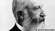 Das zeitgenössische Porträt zeigt König Leopold II. von Belgien (1865-1909). Er wurde 1835 in Brüssel geboren und starb 1909 in Laeken. pixel
