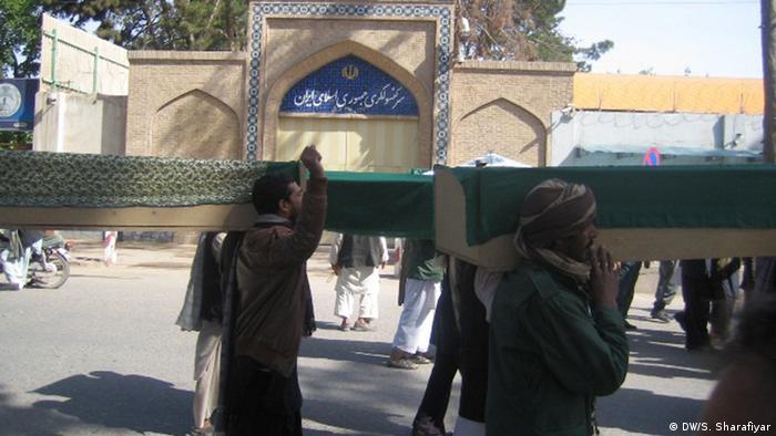 اعدام افغانها در ایران
