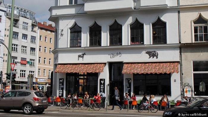 Café Oberholz at Rosenthaler Platz, copyright: by-nc-sa/Bildbunt