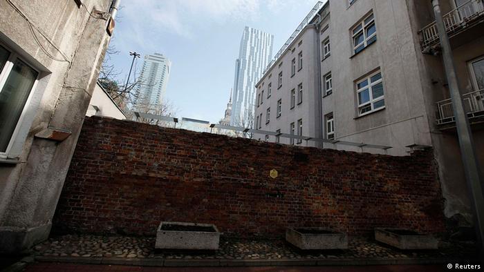 Polen Jahrestag 70 Jahre Aufstand im Warschauer Ghetto Spuren in Warschau