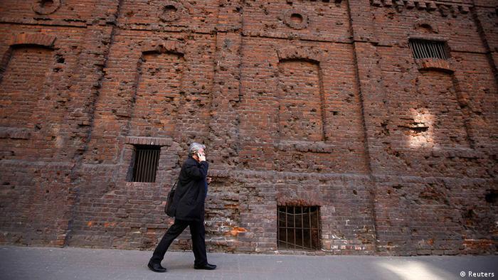 Resquício do antigo gueto na capital polonesa