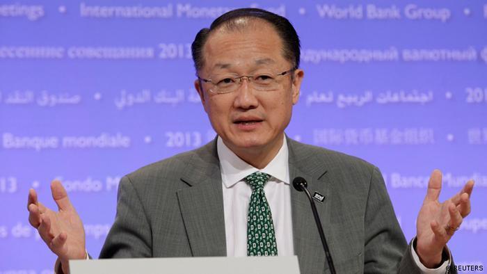 World Bank President Jim Yong Kim REUTERS/Yuri Gripas