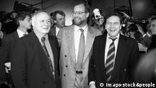 Rudolf Scharping Oskar Lafontaine Gerhard Schröder