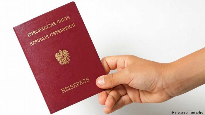Austrian passport