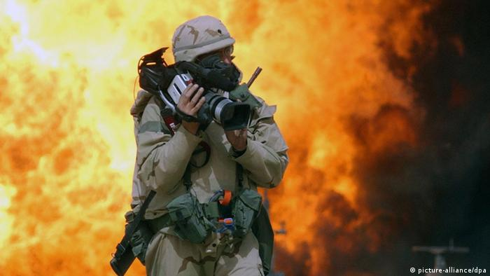 Journalist Spc. Bernard S. Wiess Irakkrieg Irak USA