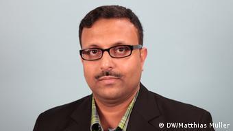 DW Bengali Mohammad Zahidul Haque (DW/Matthias Müller)