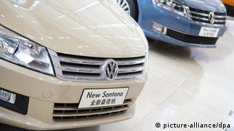 Volkswagen cars New Santana and New Lavida (Photo: Friso Gentsch Volkswagen/dpa)