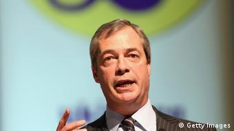 UKIP party leader Nigel Farage (Photo by Matt Cardy/Getty Images)