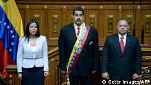 Nicolas Maduro Präsident Venezuela Amtseinführung