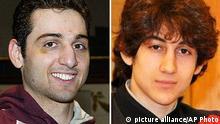 Dschochar und Tamerlan Zarnajew Anschläge Boston Marathon Watertown