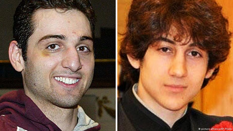 Kaka waripuaji: Tamerlan Tsarnaev (Kushoto) na mdogo wake Dzhokhar