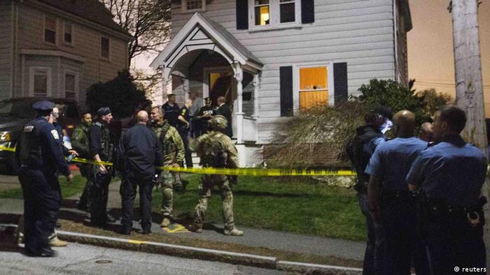 boston festnahme polizei