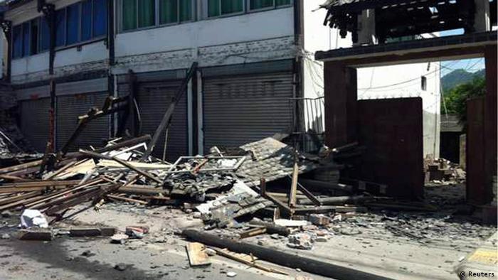 Erdebeben in China am 20. April 2013