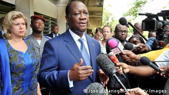 Elfenbeinküste Kommunalwahlen Ouattara