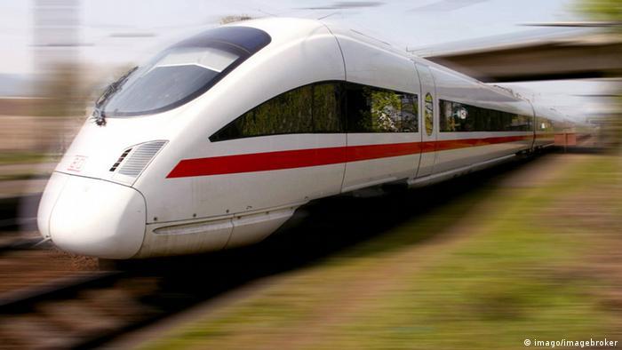 Замість магнітних подушок ICE-потяги