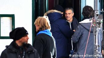 George Clooney Dreharbeiten The Monuments Men