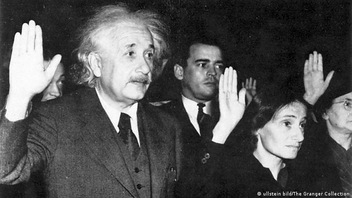Albert Einstein, Physiker, Deutschland/USA c: ullstein bild/The Granger Collection