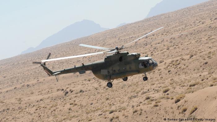 Symbolbild Hubschrauber Mi-17 in Afghanistan Archivbild 2009