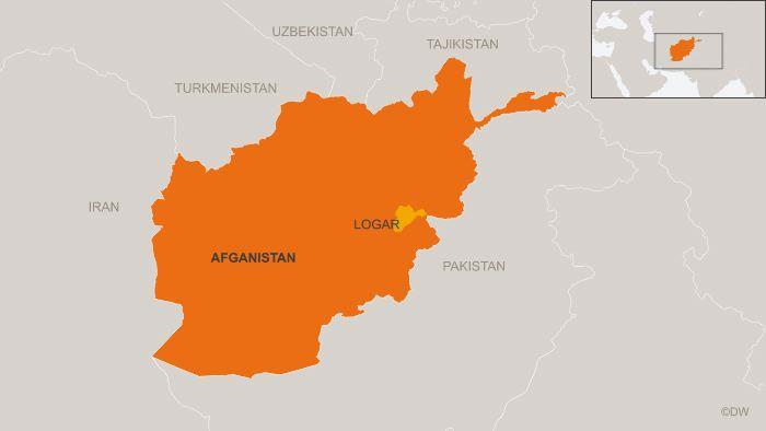Мапа Афганістану
