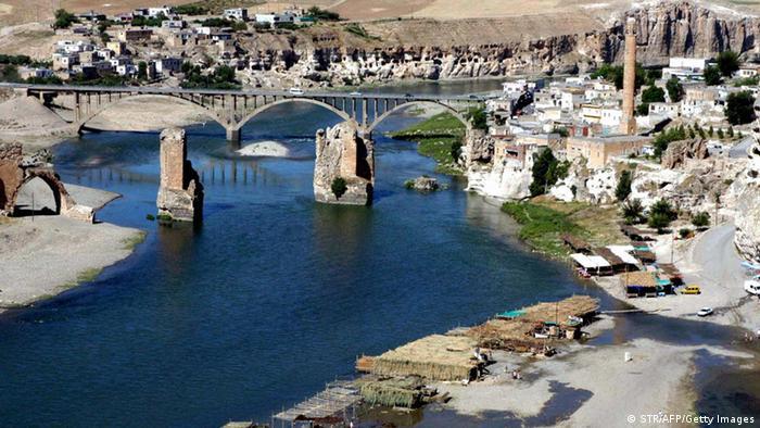 The ancient town of Hasankeyf, Turkey, is under threat of inundation