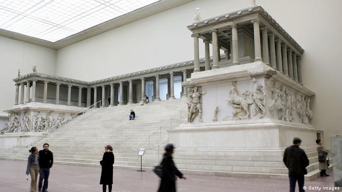 Archäologiestreit Deutschland Türkei Pergamonaltar